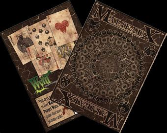 Chair Nwpa Carbs by Malifaux Foil Fate Deck 28 Images Unboxing Malifaux