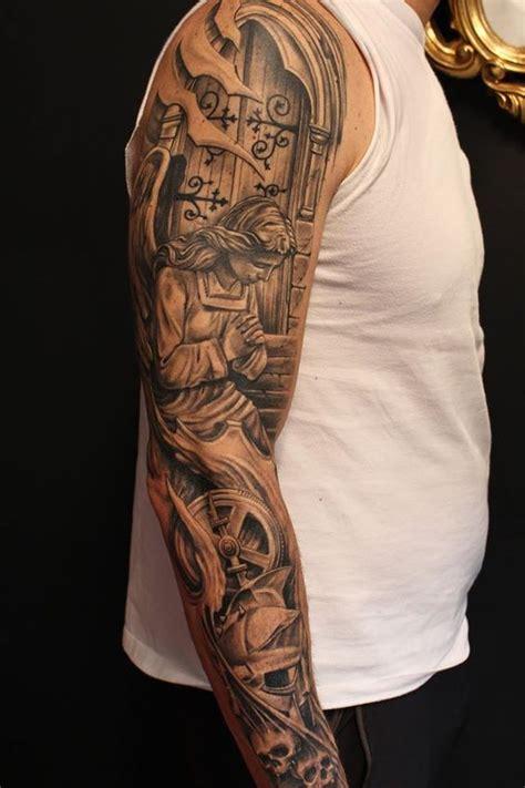 tattoo sleeve fuer maedchen und jungs mode