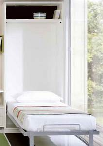 Lit Une Place : armoire lit secret de chambre ~ Teatrodelosmanantiales.com Idées de Décoration