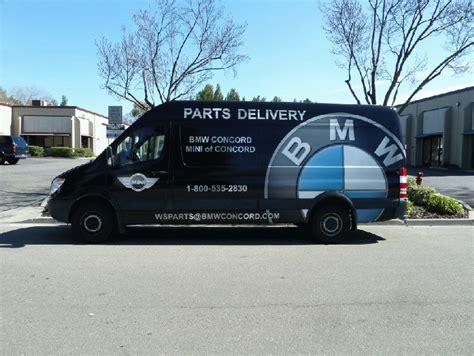 Custom Graphic Wrap For 170″ Sprinter, Bmw Concord Ca