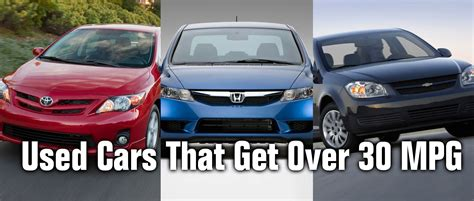 Cars That Get 30 Mpg by Finding Used Cars That Get 30 Mpg In Indianapolis