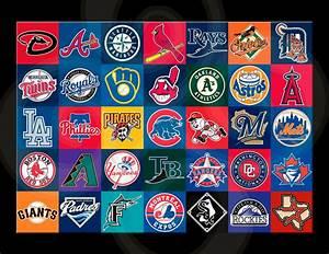 Baseball Team/Teams Logos/Major League/17x22 inch | eBay