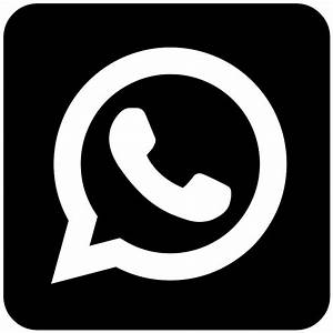 The gallery for --> Whatsapp Logo Black And White
