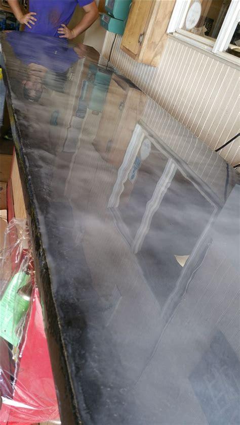 Metallic Countertop by Three Step Countertop Metallic Kit Pearls