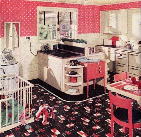 vintage kitchen decorating ideas retro kitchen design sets and ideas
