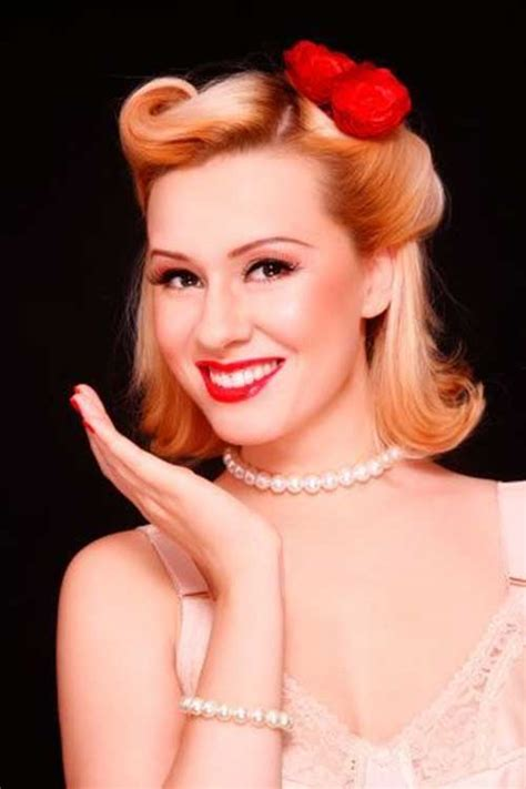 50s Pin Up Hairstyles by 50s Hair The Best Hairstyles For 2016