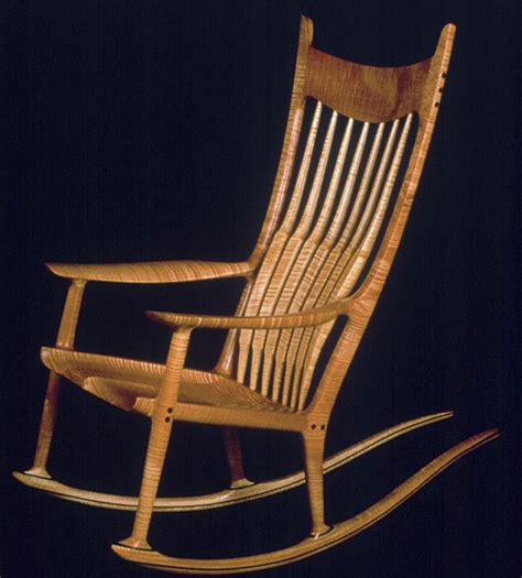 maloof rocking chair finewoodworking