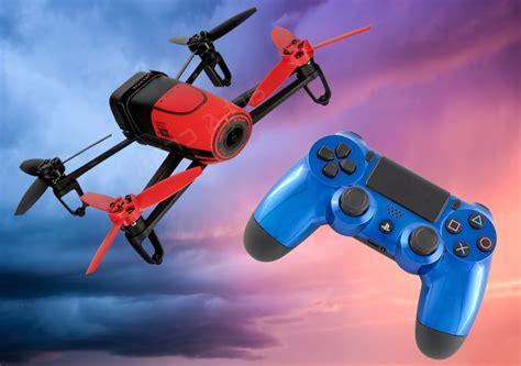 como volar el parrot bebop drone  control de playstation  youtube