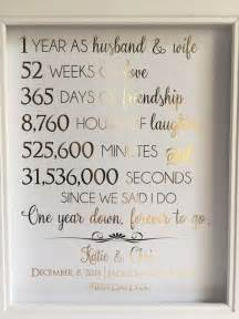 1 year wedding anniversary gifts 25 best ideas about 1st anniversary gifts on 1st year anniversary 1st year