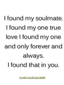 I Found My Love You Quotes