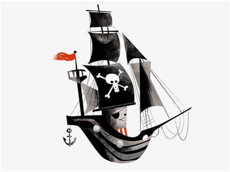 Barco Pirata Negro by Dibujos Animados De Barco Pirata Barco Pirata Cartoon