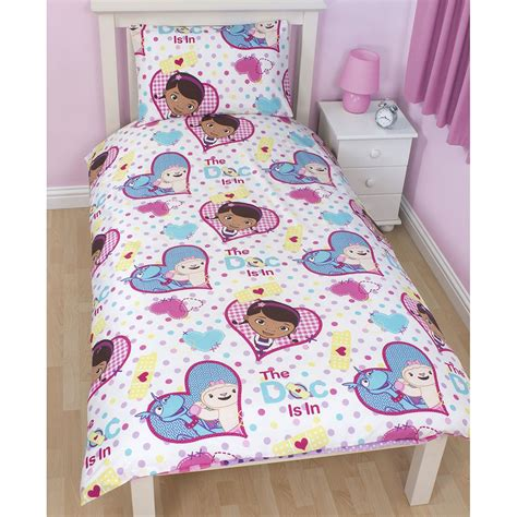 doc mcstuffins size bedding doc mcstuffins bedroom bedding duvet covers in single and