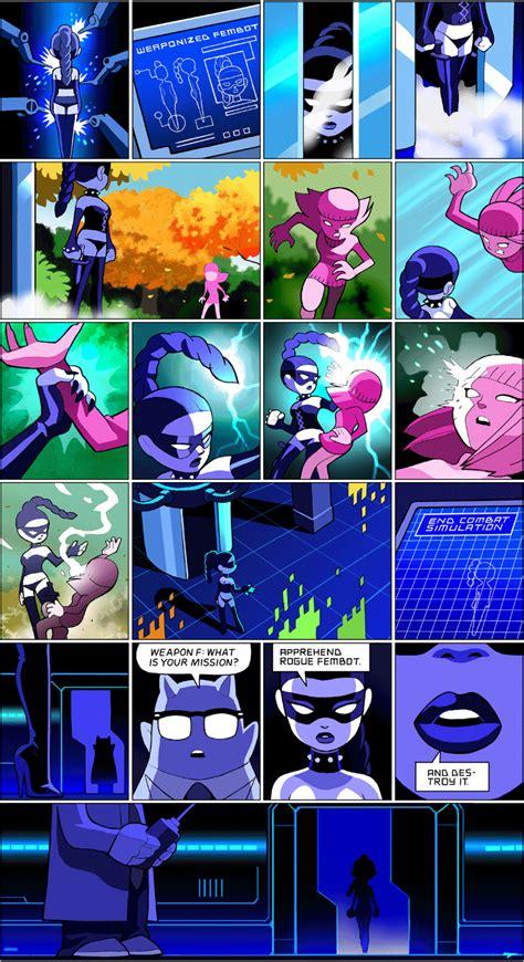weaponized fembot comics comics story fun comics