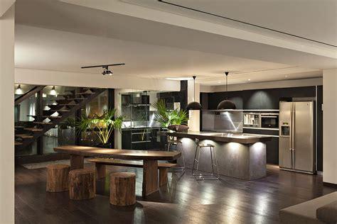 tropical penthouse apartment  mumbai  views   arabian sea idesignarch interior