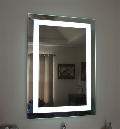 wall mounted bathroom mirror with light lighted bathroom vanity make up mirror led lighted wall