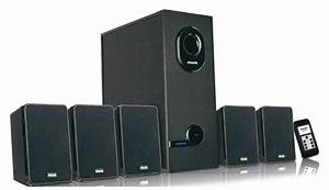 Philips DSP 2600 5.1 Multimedia Speakers: Buy Online from ...