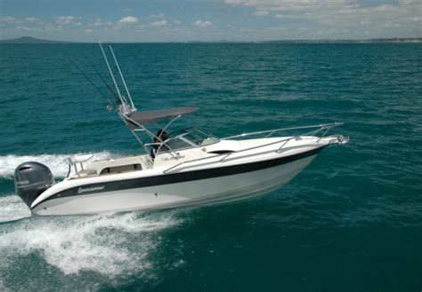 El Dorado Fishing Boat by Buccaneer El Dorado Open Cabin Boatmags