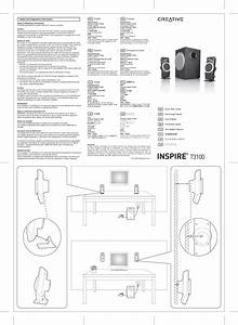 Creative Inspire T3100 Users Manual
