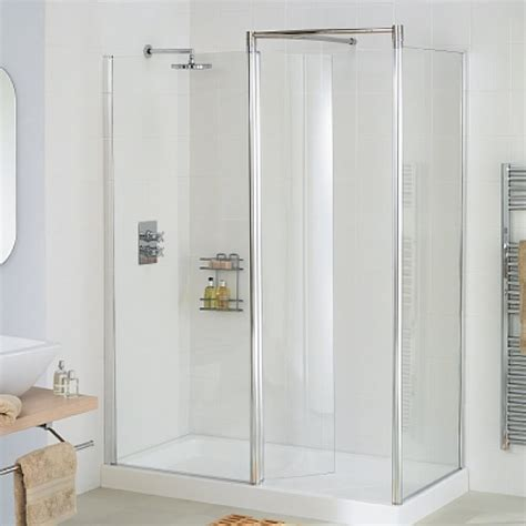 1700 Shower Enclosure - lakes bathrooms classic silver 1700 x 1000mm walk in