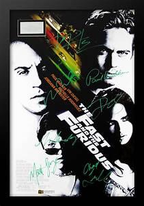 Fast And Furious Affiche : affiche du film fast and furious sign par coul es dans ~ Medecine-chirurgie-esthetiques.com Avis de Voitures