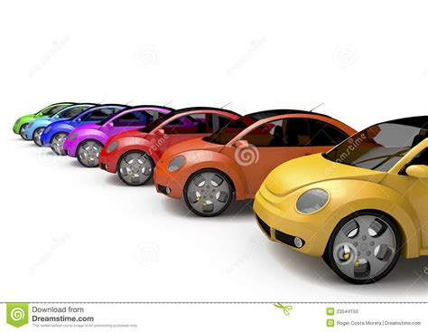Car Image Rainbow Car Stock Photo Image 23544150