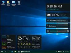 Vi mancano i gadget del Desktop? Ecco come averli su