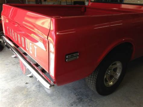 find used 1972 chevy c 10 truck runs bed automatic
