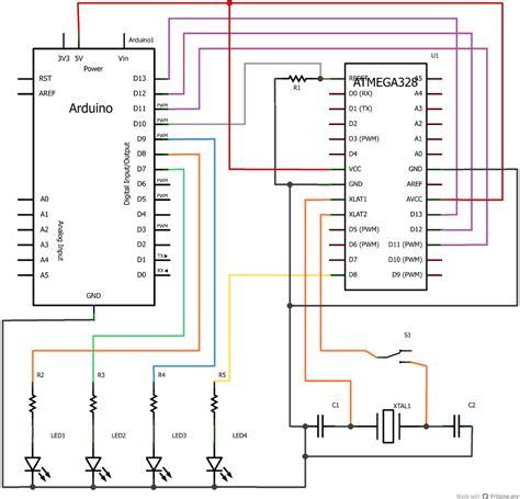 atmega328p breadboard wiring diagram speaker wiring