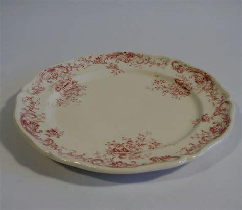 villeroy und boch alte teller villeroy boch valeria rot kuchenteller keramik alte serie
