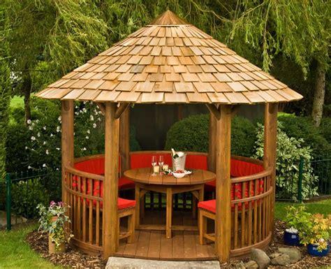 Wooden Garden Gazebo Modern Circular Wooden Gazebos Circular Wooden Gazebos