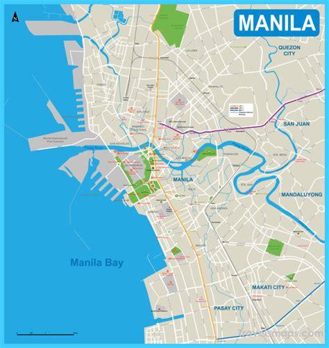 map  manila travelsmapscom