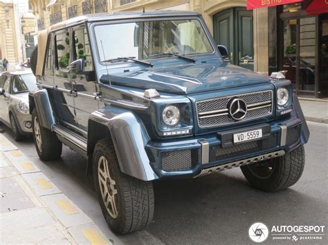 We may earn money from the links on this page. Mercedes-Maybach G 650 Landaulet W463 - 2 April 2019 - Autogespot