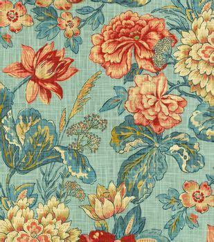 foto de HGTV Home Upholstery Fabric Garden Odyssey Fog JOANN
