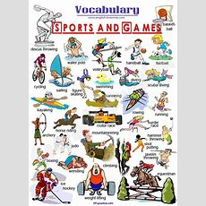 Sports And Games, #vocabulary #english  Easy English  English Vocabulary, English For