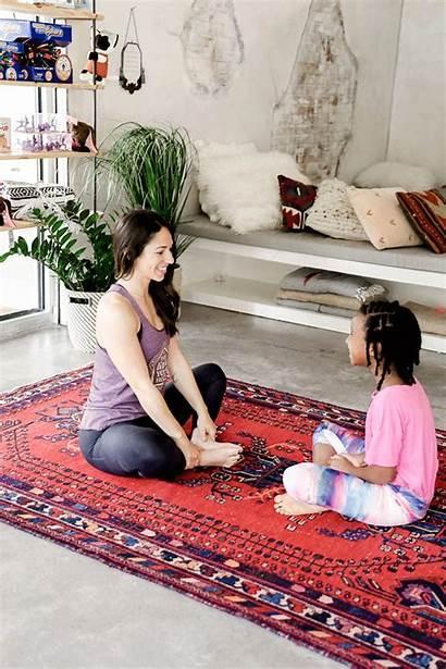 Yoga Moves Fitness Dog Partner Resting Camille