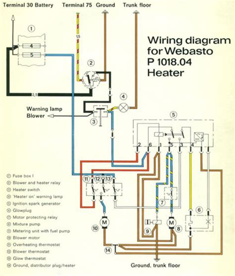 Wiring Diagram Heater by Gas Heaters Pelican Parts Forums