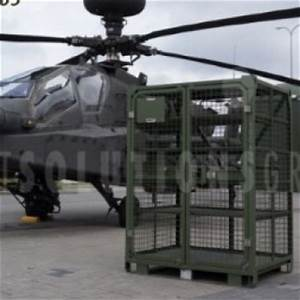Portable Military Deployment Storage Container Secure