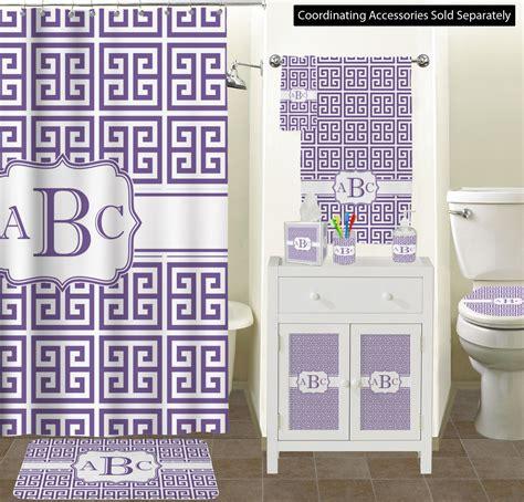 greek key toilet seat decal personalized youcustomizeit