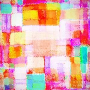 Abstract Geometric Colorful Pattern by Setsiri Silapasuwanchai