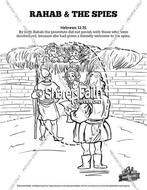 Rahab Coloring Pages - Democraciaejustica
