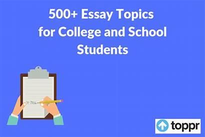 Essay Topics Writing Pdf Topic Students College
