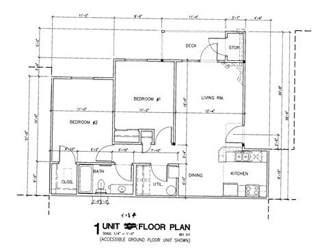 Simple house plan with dimensions   House design plans