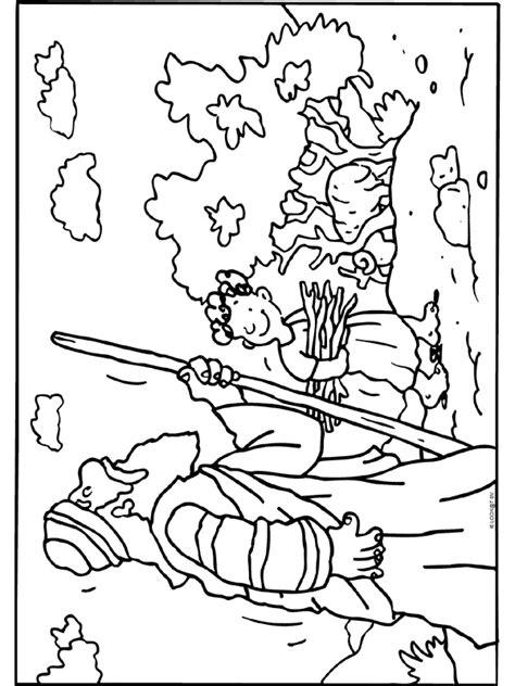 Kleurplaat Bijbelse Figuren by Kleurplaat Isaak Bijbelse Figuren Kleurplaten Nl