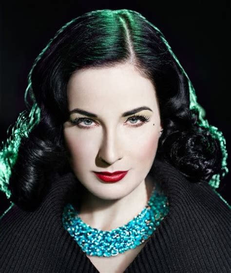 wallpaper world dita von teese  genlux magazine photo