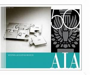 AIA Western Mountain Region 50th Anniversary Commemorative ...