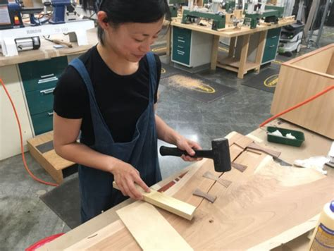 women  woodworking jess ouyang