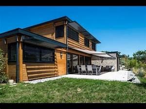 Maison En Bois Tout Compris : maisons bois poteau poutre vision bois youtube ~ Melissatoandfro.com Idées de Décoration