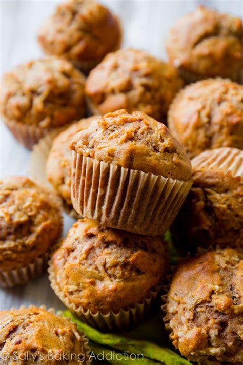 wheat apple cinnamon muffins sallys baking addiction