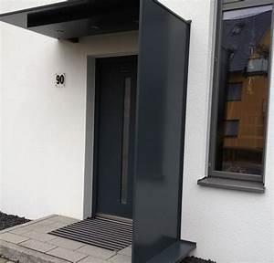 Vordach Hauseingang Modern : hauseingang modern gestalten nees edelstahlverarbeitung ~ Michelbontemps.com Haus und Dekorationen