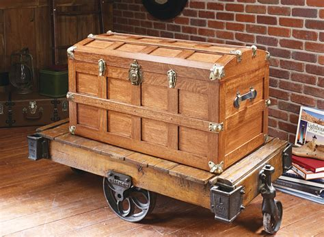 domed top steamer trunk woodworking project woodsmith